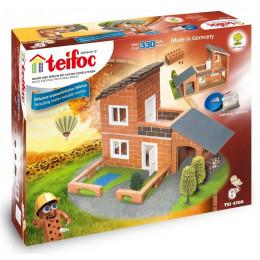 Teifoc 4700 Budowle z Cegiełek - Willa z garażem