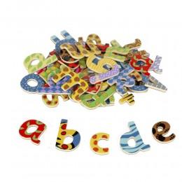 Tidlo - Magnesy na lodówkę - Litery alfabetu 58 el. T0073