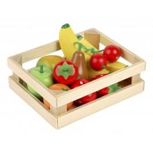Tidlo - Drewniane owoce w skrzynce - T0131