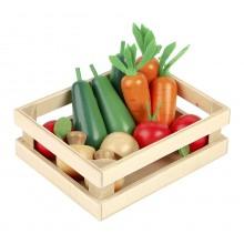 Tidlo - Drewniane warzywa w skrzynce - T0134