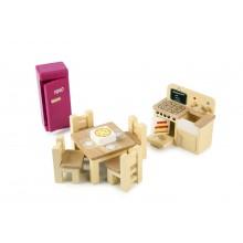 Tidlo - Drewniane mebelki dla lalek - Kuchnia T0224