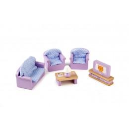 Tidlo - Drewniane mebelki dla lalek - Salon T0225