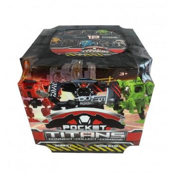 TM Toys - Pocket Titans - robot + arena do walki - 1888