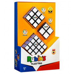 TM Toys – Kostka Rubika – Tiled Trio – Zestaw 3 kostek – 3031