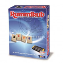 TmToys - Rummikub NGT z woreczkiem - Gra logiczna 9680