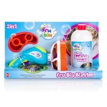 Fru Blu - Miotacz baniek mydlanych + płyn 0,5l -  DKF10242