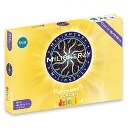 TmToys MIL308297 Gra Milionerzy Wyzwanie - Dzieci vs Dorośli