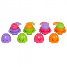 Tomy – Jajeczka z łyżeczkami – 73082