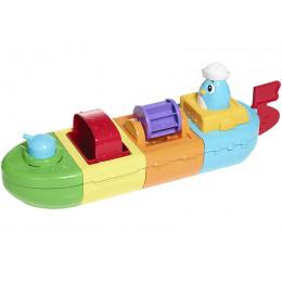 Tomy - Łódka pełna aktywności - Zabawka do kąpieli E72453