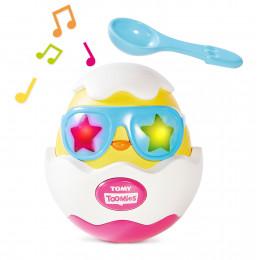 Tomy - Grające jajko Beat it! - Zabawka interaktywna E72816