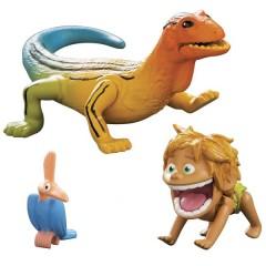 Tomy L62002 Dobry Dinozaur - Mała Figurka Spot i Lizard
