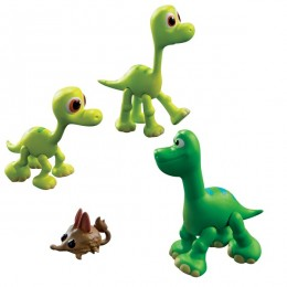Tomy L62004 Dobry Dinozaur - Mała Figurka Arlo, Libby i Buck