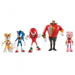 Sonic Boom - Figurki bohaterów z bajki - 5 figurek T22068