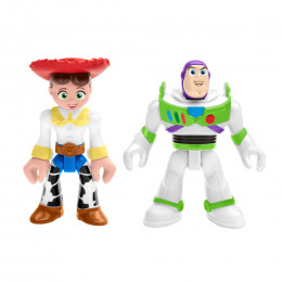 Imaginext Toy Story - Buzz Astral i Jessie - Figurki GFT02