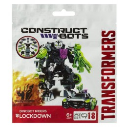 TRANSFORMERS A6171 Construct Bots Dinobot Riders Lockdown