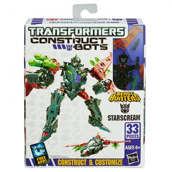 TRANSFORMERS A5677 Construct Bots Starscream
