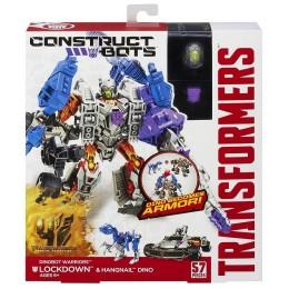 TRANSFORMERS A6167 Construct Bots Lockdown i Dino