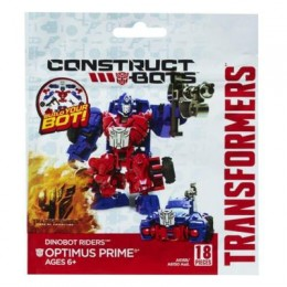 TRANSFORMERS A6168 Construct Bots Dinobot Riders Optimus Prime