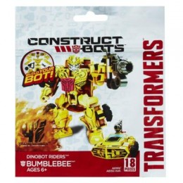 TRANSFORMERS A6169 Construct Bots Dinobot Riders Bubmlebee
