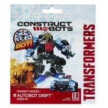 TRANSFORMERS A6170 Construct Bots Dinobot Riders Autobot Drift