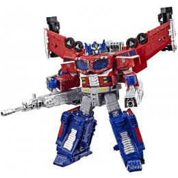 Transformers - Wojna o Cybertron Siege - Galaxy Optimus Prime Leader Class E3480