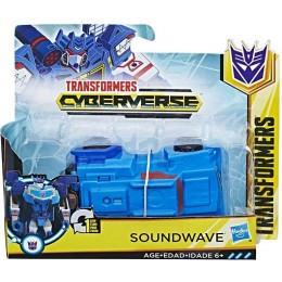 Transformers Cyberverse - Soundwave - E3522 E3524