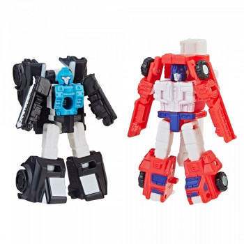 Transformers - Wojna o Cybertron: Oblężenie - Red Heat i Stakeout - Patrol ratunkowy E3562