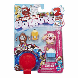 Transformers - BotBots - Seria 1 - 5 figurek Sugar Shocks Zestaw 1 E4136