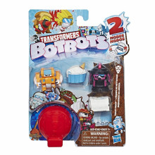 Transformers - BotBots - Seria 1 - 5 figurek Toilet Troop Zestaw 3 E4137