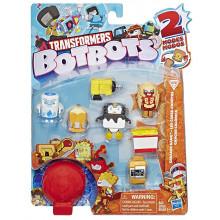 Transformers - BotBots - Seria 1 - 8 figurek Greaser Gang Zestaw 1 E4143