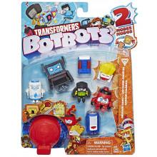 Transformers - BotBots - Seria 1 - 8 figurek Greaser Gang Zestaw 2 E4143