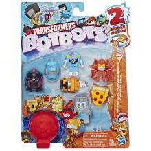 Transformers - BotBots - Seria 1 - 8 figurek Greaser Gang Zestaw 3 E4143