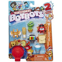 Transformers - BotBots - Seria 1 - 8 figurek Greaser Gang Zestaw 4 E4143