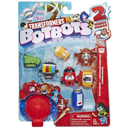 Transformers - BotBots - Seria 1 - 8 figurek Jock Squad Zestaw 4 E4144