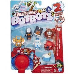 Transformers - BotBots - Seria 1 - 8 figurek Jock Squad Zestaw 1 E4144