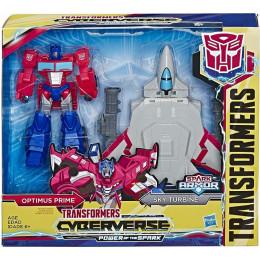 Transformers - Cyberverse Spark Armor - Optimus Prime E4328 E4220