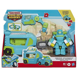 Transformers - Rescue Bots Academy - Centrum dowodzenia - Command Center Hoist E7181 E6431