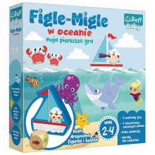 Trefl Baby - 01381 Gra - Figle - Migle w oceanie