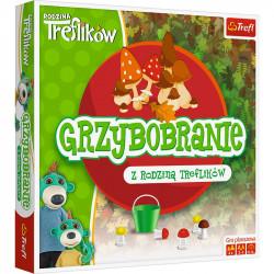 Trefl - Grzybobranie z rodziną Treflików - Gra planszowa 01586