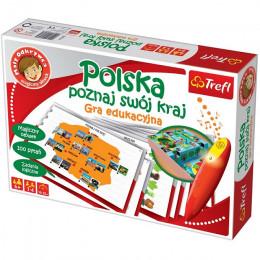 Trefl - Gra edukacyjna - Mały Odkrywca - Polska - Poznaj swój kraj - 01606