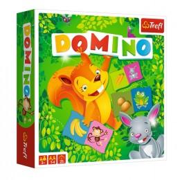 Trefl – Domino ilustrowane ze zwierzątkami – 01610
