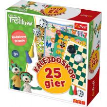 Trefl - Rodzina Treflików - Kalejdoskop 25 Gier - 01678