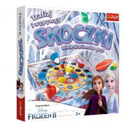 Trefl – Gra rodzinna skoczki – Frozen II Kraina Lodu – 01902