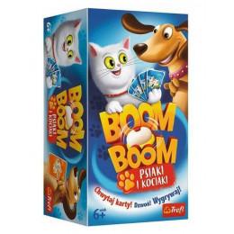 Trefl – Gra Boom Boom - Psiaki i kociaki - 01909