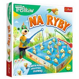 Trefl – Rodzina Treflików – Gra zręcznościowa - Na ryby – 01963