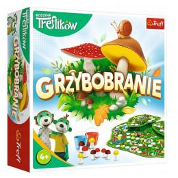 Trefl – Rodzina Treflików – Gra planszowa - Grzybobranie – 02035
