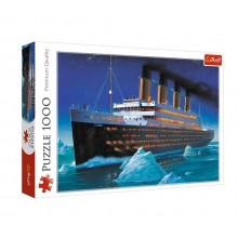 Trefl – Puzzle 1000 elementów – Statek Titanic – 10080