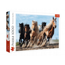 Trefl – Puzzle galopujące stado koni – 1000 elementów – 10446