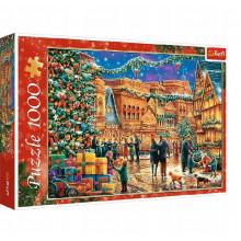 Trefl – Puzzle świąteczny rynek – 1000 elementów – 10554