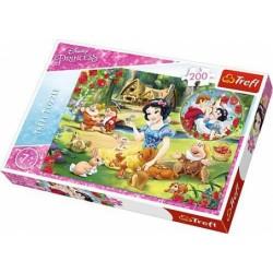 Trefl - Puzzle Królewna Śnieżka - Marzenia o miłości 200 el. - 13204